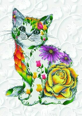 Diamand Dotz Flower Puss