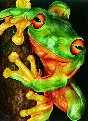 Diamand Dotz Green Tree Frog