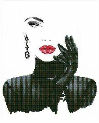 Diamand Dotz Lady in Black