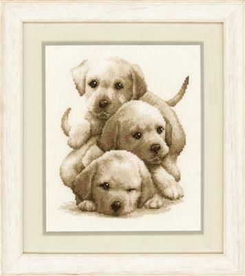 Vervaco Labrador Puppies