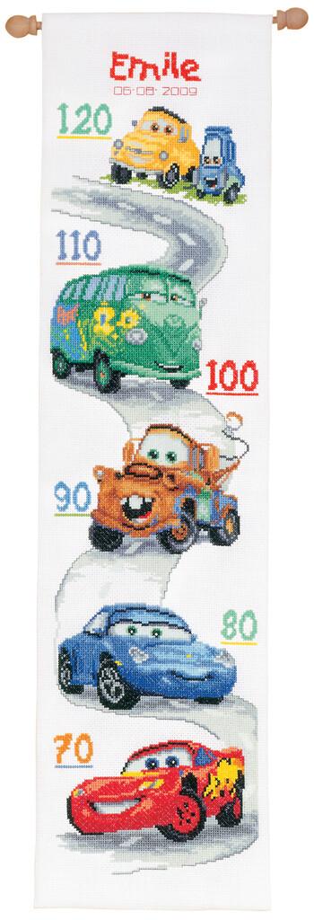 Vervaco Disney Cars