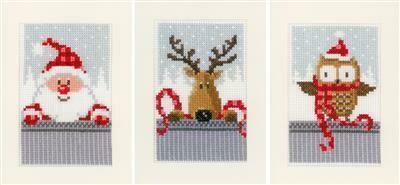 Vervaco Kerstfiguren set van 3