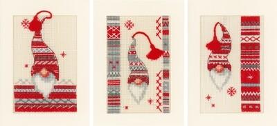 Vervaco Kerstkabouters set van 3