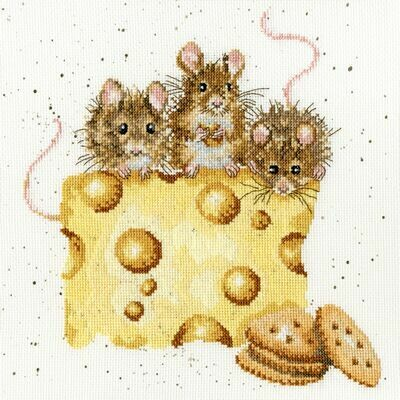 Bothy Threads Crackers About Cheese by Hannah Dale