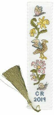 Bothy Threads Daffodil And Honeysuckle Bookmark
