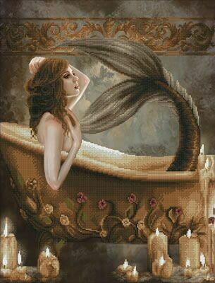 Diamand Dotz Bath Time Mermaid