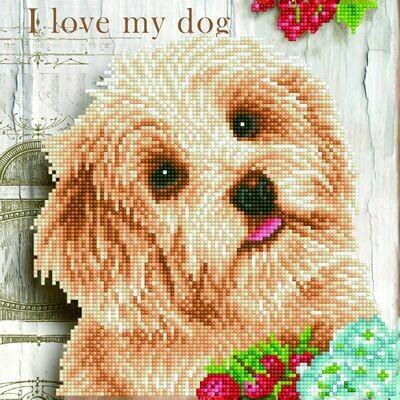 Diamand Dotz I Love My Dog