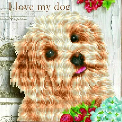 Diamand Dotz I Love My Dog