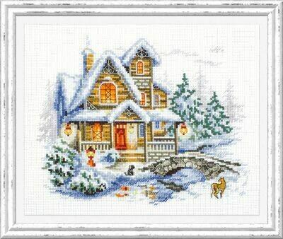 Chudo-Igla Winter Cottage