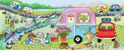 Bothy Threads Caravan Fun by Julia Rigby