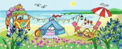 Bothy Threads Glamping Fun by Julia Rigby