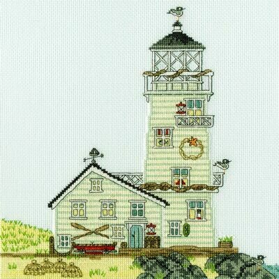 Bothy Threads New England The Lighthouse by Sally Swannell