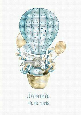 Luca-S Rabbit in a Flying Balloon