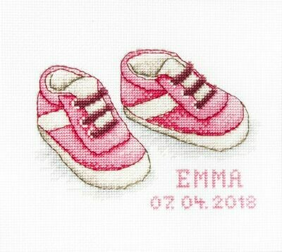 Luca-S Baby Shoes Pink