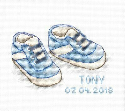 Luca-S Baby Shoes Blue