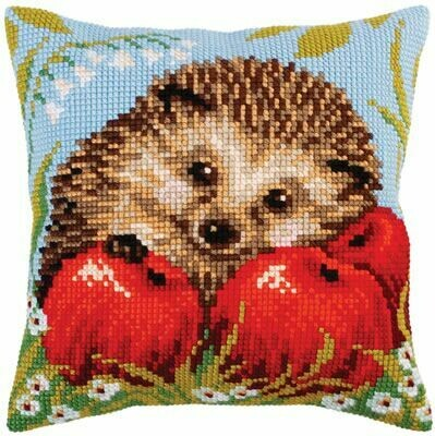 Collection D'Art Hedgehog with Apples