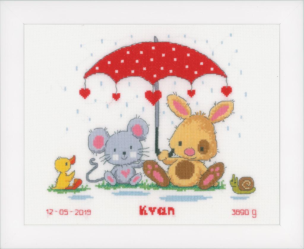 Vervaco Onder de Paraplu