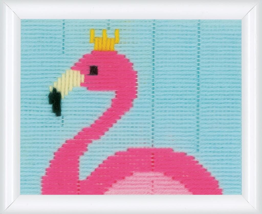 Vervaco Spansteek Kit Flamingo