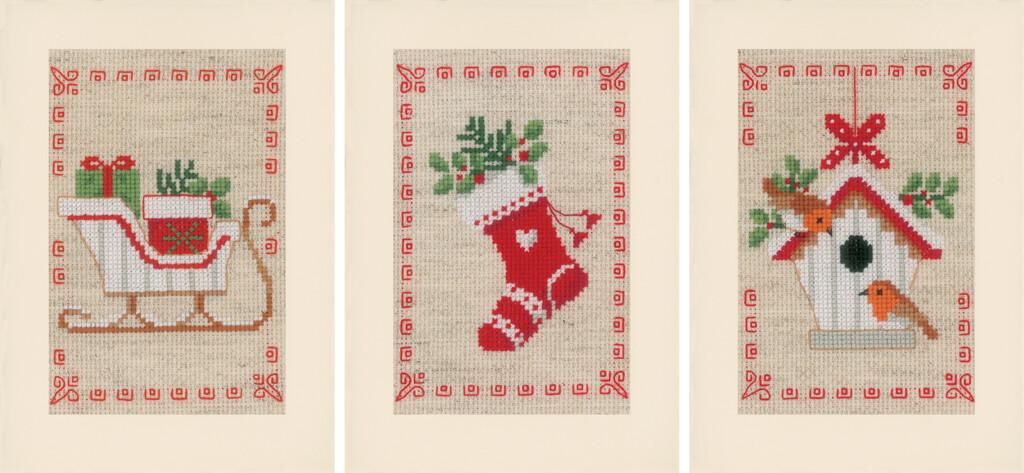Vervaco Kerstmotiefjes