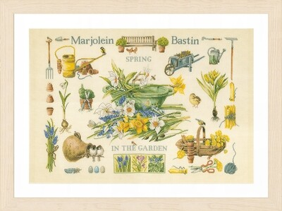 Lanarte Spring in the Garden by Marjolein Bastin