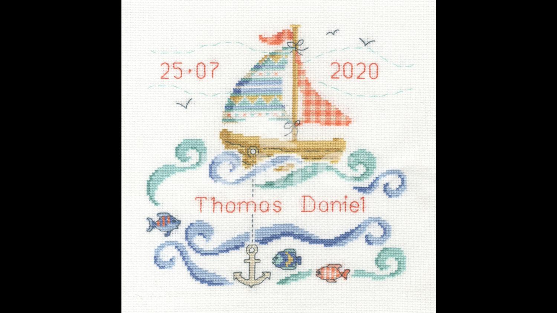 DMC Sail Boat Baby