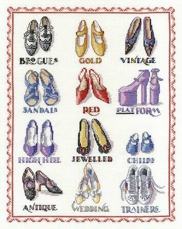DMC Shoes Sampler