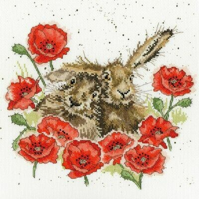 Bothy Threads Love is in The Hare Hannah Dale