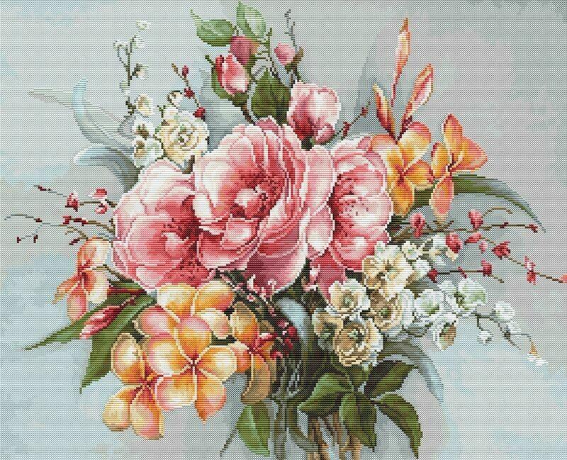 Luca-S Flower Bouquet