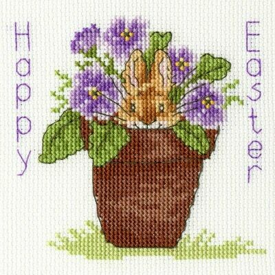 Bothy Threads Easter Bunny by Margaret Sherry