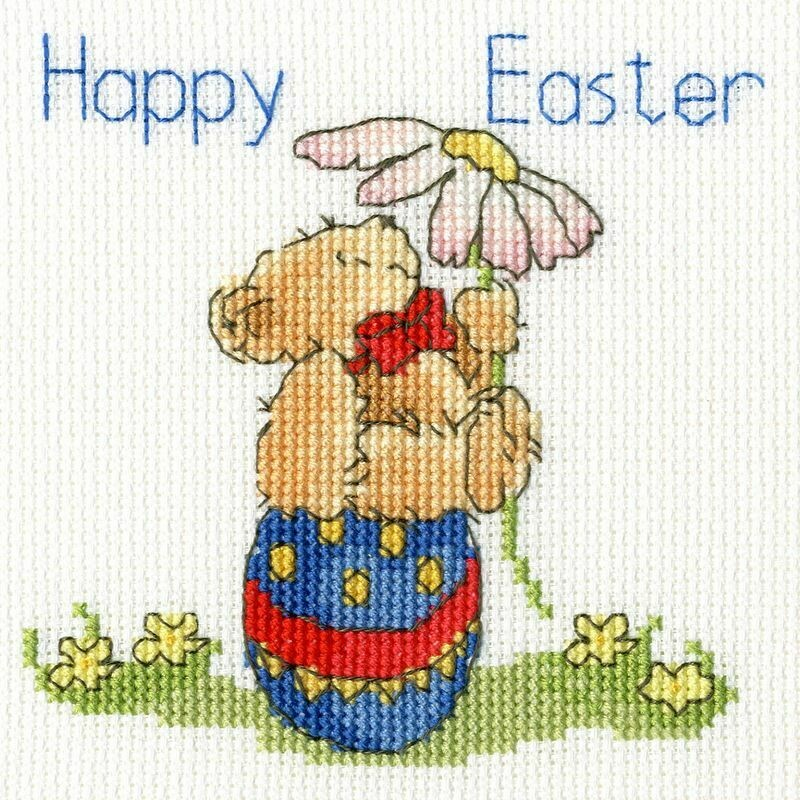 Bothy Threads Easter Teddy by Margaret Sherry