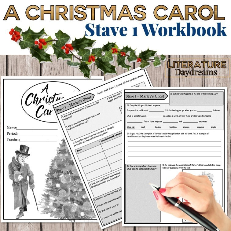 Christmas Carol Chapter 1 Workbook