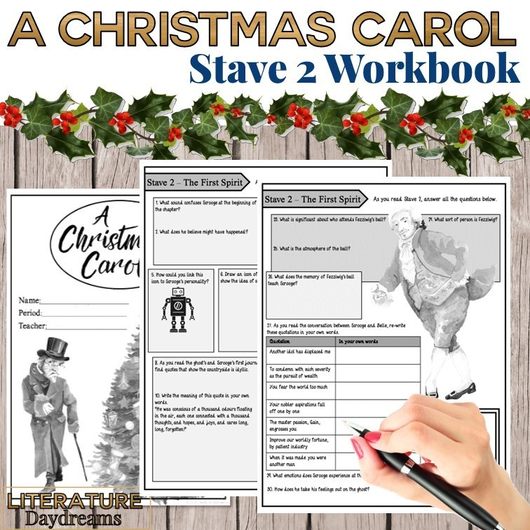 Christmas Carol Chapter 2 Workbook