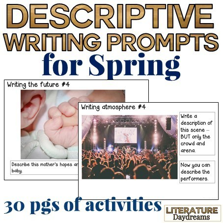 Descriptive Writing Prompts for Spring