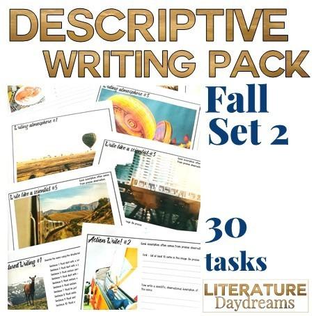 Autumn Descriptive Writing (Set 2)
