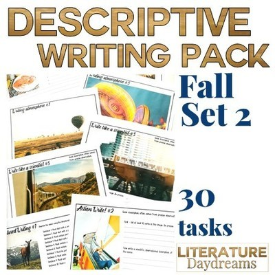 Autumn Descriptive Writing (Set 2)