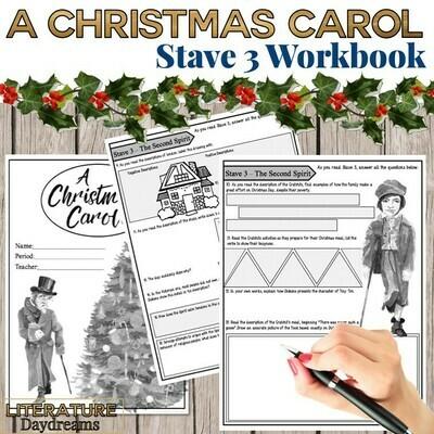 Christmas Carol Chapter 3 Workbook