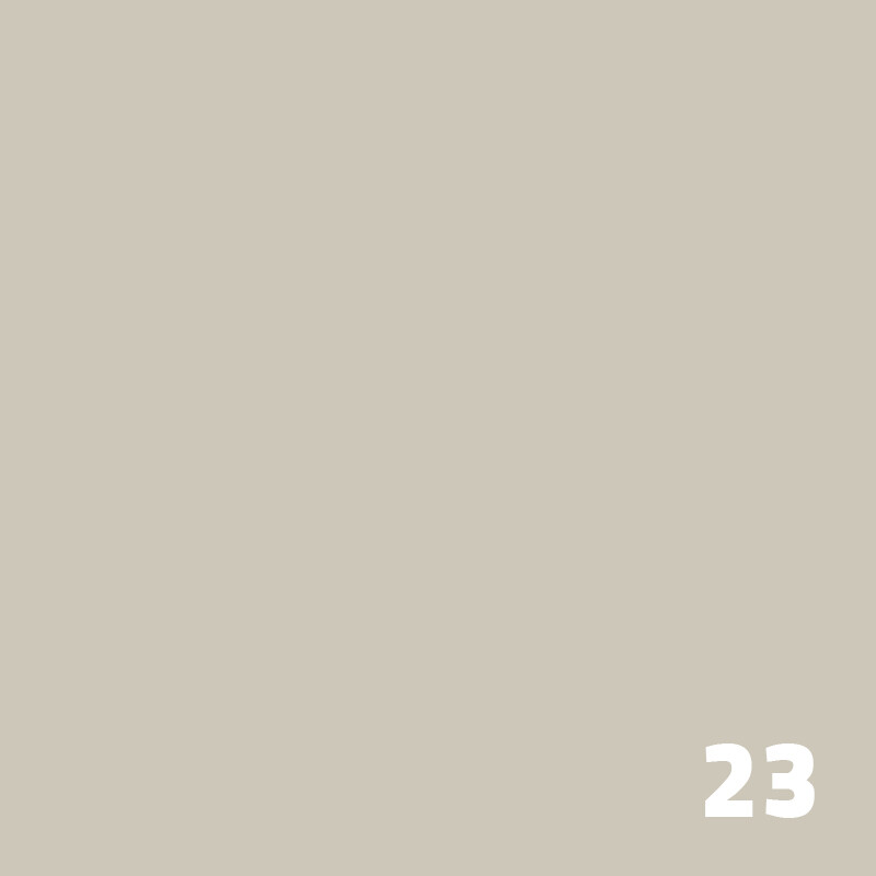 23 SUPERIOR Seamless Paper 1.35 m - Dull Aluminum