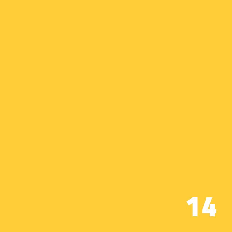 14 SUPERIOR Seamless Paper 1.35 m - Forsythia Yellow