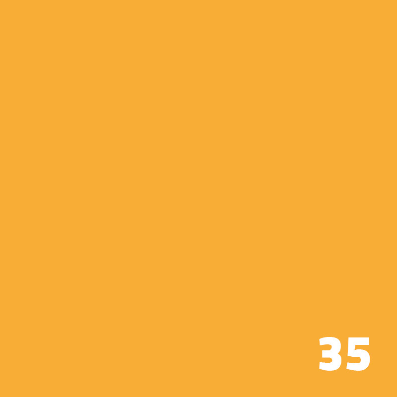 35 SUPERIOR Seamless Paper 1.35 m - Yellow-Orange