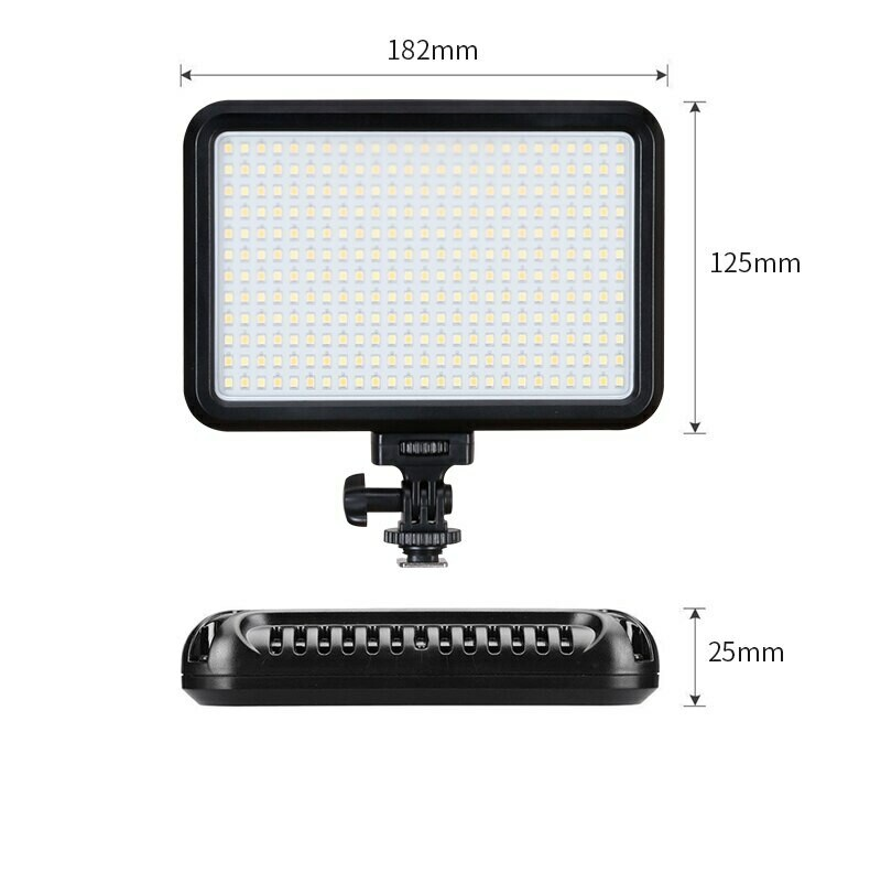 Tolifo PT-F300B Slim Bi Color Led Light