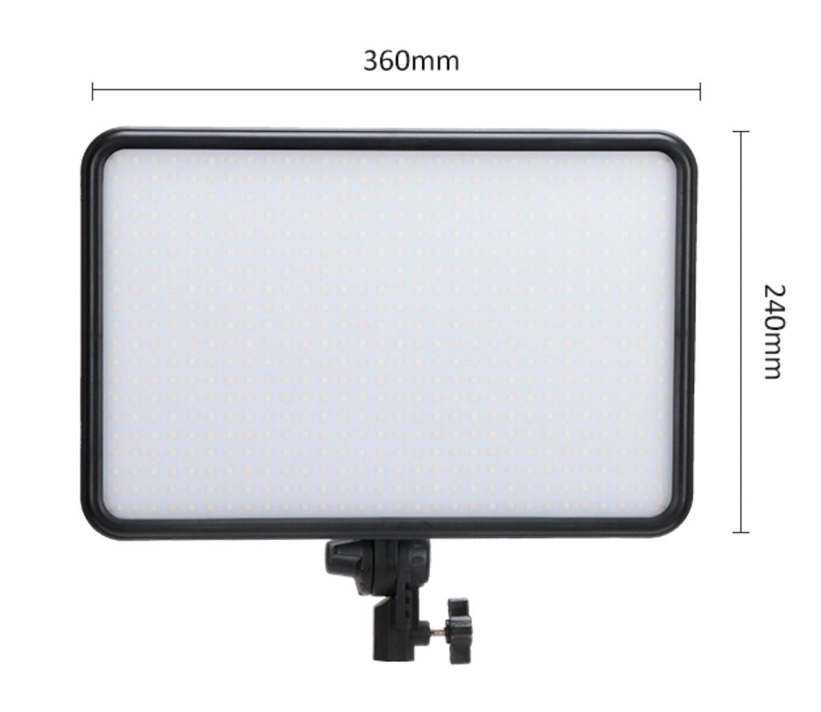 Tolifo PT-F60B Slim Bi Color Led Light