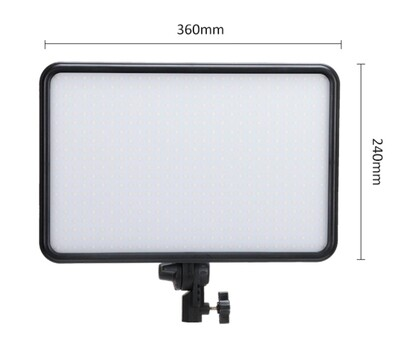 Tolifo PT-F60B Slim Bi Color Led Light