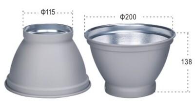 Lightbug  standard reflector for Elinchrom