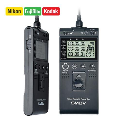 SMDV Timer Remote Controller Shutter Release for Nikon / Fuji / Kodak T803