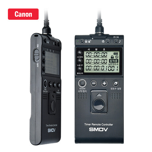 SMDV Timer Remote Controller Shutter Release for Canon T811
