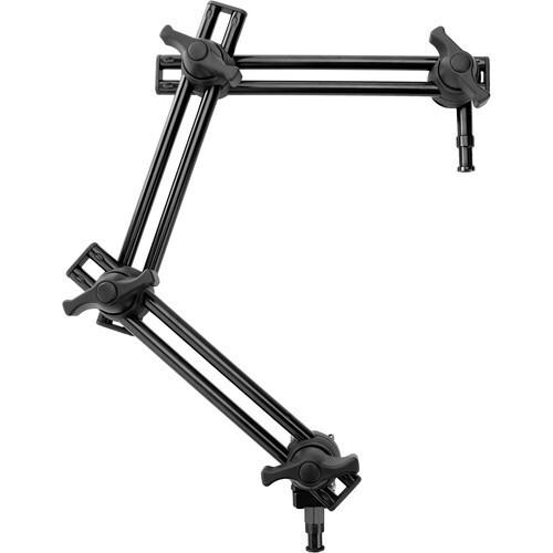 Lightbug 3 Section Twin Adjustable Arm
