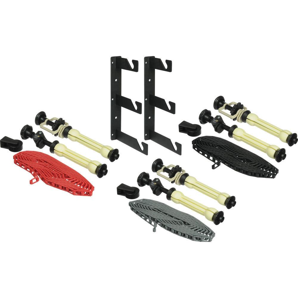 Lightbug 3-Roller Manual Chain Background Support Kit