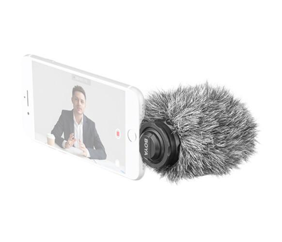 BOYA BY-DM200 Plug-In Digital Cardioid Microphone for Lightning iOS Devices