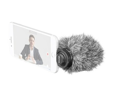 BOYA BY-DM200 Plug-In Digital Cardioid Microphone for Lightning iOS Devices