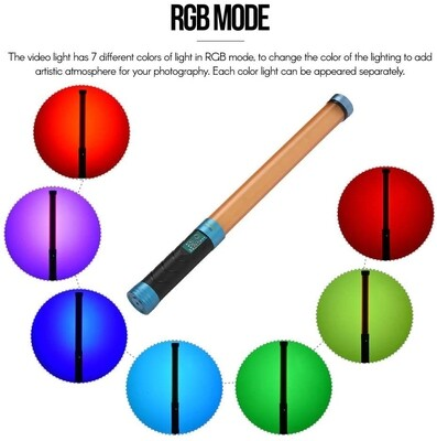 NiceFoto TC-288 RGB Led Video Handheld Light Stick